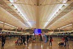 Hong Kong lotnisko Fotografia Royalty Free