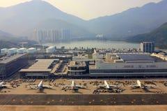 Hong Kong lotnisko Zdjęcie Royalty Free