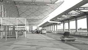 Hong Kong lotnisko międzynarodowe Fotografia Stock