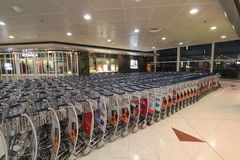 Hong Kong lotnisko międzynarodowe Obrazy Royalty Free