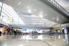 Hong Kong lotnisko międzynarodowe Zdjęcia Royalty Free