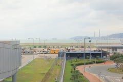 Hong Kong lotnisko międzynarodowe 2016 Zdjęcia Stock