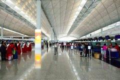 Hong Kong lotnisko międzynarodowe Zdjęcie Royalty Free