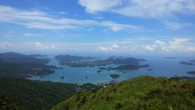 Hong-Kong mA en shan Imagen de archivo libre de regalías