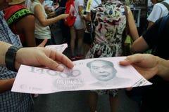 Hong Kong marços 2014 do 1º de julho Fotografia de Stock Royalty Free