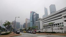 Modern buildings in Kowloon, Hong Kong Stock Photos