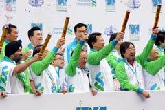 Hong Kong Marathon 2010 Royalty Free Stock Images