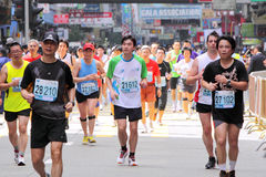 Hong Kong Marathon 2010 Royalty Free Stock Images
