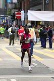 Hong Kong Marathon 2011 Stock Photos