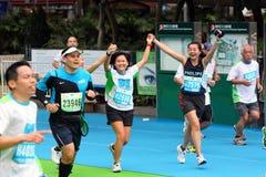 Hong Kong Marathon 2011. Standard Chartered Hong Kong Marathon 2011 Royalty Free Stock Image