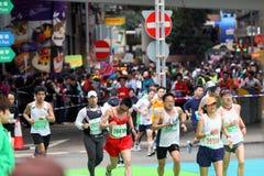Hong Kong Marathon 2011 Royalty Free Stock Photography