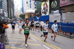 Hong Kong Marathon 2011 Royalty Free Stock Photography