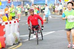 Hong Kong Marathon 2012. Standard Chartered Hong Kong Marathon 2012 Royalty Free Stock Images