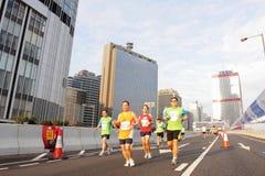 Hong Kong Marathon 2012 Royalty Free Stock Image