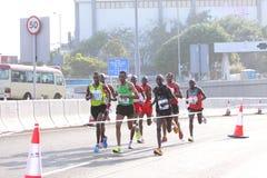 Hong Kong Marathon 2012 Royalty Free Stock Photo