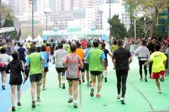 Hong Kong Marathon 2012 Royalty Free Stock Photography