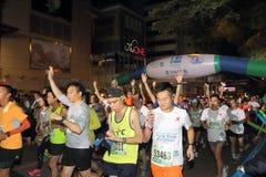 Hong Kong Marathon 2015 Imagen de archivo