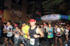 Hong Kong Marathon 2015 Photos libres de droits