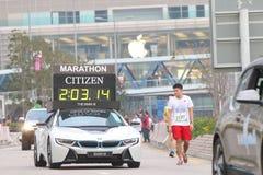 Hong Kong Marathon 2015 Fotografía de archivo libre de regalías