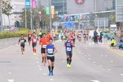 Hong Kong Marathon 2015 Foto de archivo