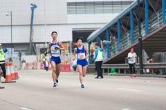 Hong Kong Marathon 2015 Arkivfoton