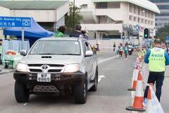 Hong Kong Marathon 2015 Lizenzfreies Stockbild