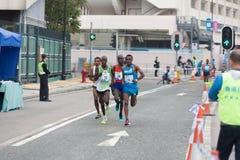 Hong Kong Marathon 2015 Lizenzfreie Stockbilder