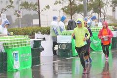 Hong Kong Marathon 2016 Imagen de archivo libre de regalías