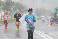 Hong Kong Marathon 2016 Stockfotos