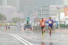 Hong Kong Marathon 2016 Fotos de archivo libres de regalías
