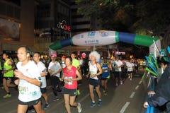 Hong Kong Marathon 2015 Royalty Free Stock Photo