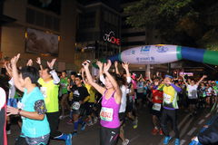 Hong Kong Marathon 2015 Stock Photography