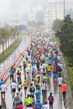 Hong Kong Marathon 2016 Stock Photo