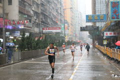 Hong Kong Marathon 2016 Royalty Free Stock Photo