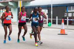 Hong Kong Marathon 2015 Stock Photos