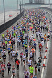 Hong Kong Marathon 2016 Stock Photo