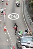 Hong Kong maraton 2010 Fotografering för Bildbyråer