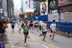 Hong Kong maraton 2011 Royaltyfri Fotografi