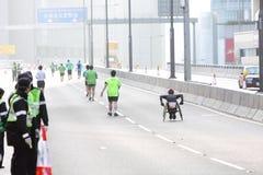 Hong Kong maraton 2012 Arkivbilder