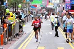 Hong Kong maraton 2013 Zdjęcia Stock