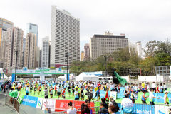 Hong Kong maraton 2013 Zdjęcie Stock