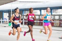 Hong Kong maraton 2015 Zdjęcie Stock