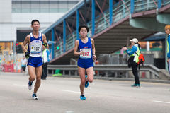 Hong Kong maraton 2015 Obrazy Stock