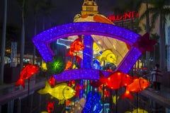 Hong Kong 2018 Spring Lantern exhibition. HONG KONG , MARCH 05 : The Spring Lantern exhibition in Hong kong on March 05 2018. The annual Lantern exhibition is Royalty Free Stock Photography