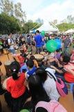 Hong Kong Mardi Gras Arts 2015 dans l'événement de parc Photo stock