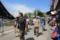 Hong Kong Mardi Gras Arts 2015 dans l'événement de parc Image libre de droits