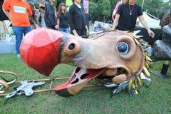 2014 Hong Kong Mardi Gras Arts in de Parkgebeurtenis Stock Foto