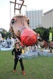 2014 Hong Kong Mardi Gras Arts in de Parkgebeurtenis Royalty-vrije Stock Afbeelding