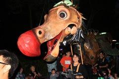 2014 Hong Kong Mardi Gras Arts in de Parkgebeurtenis Royalty-vrije Stock Fotografie