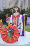 2015 Hong Kong Mardi Gras Arts in de Parkgebeurtenis Stock Foto